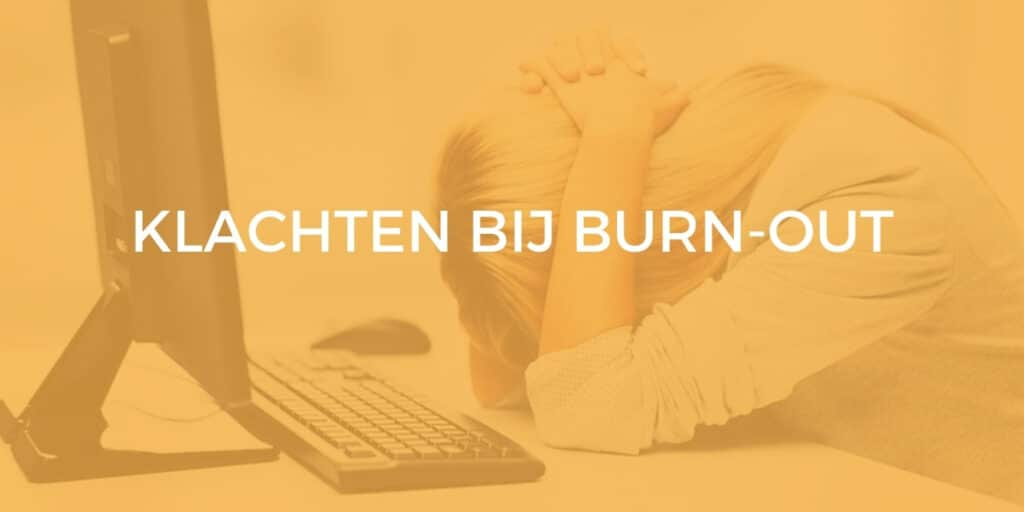 burn-out klachten