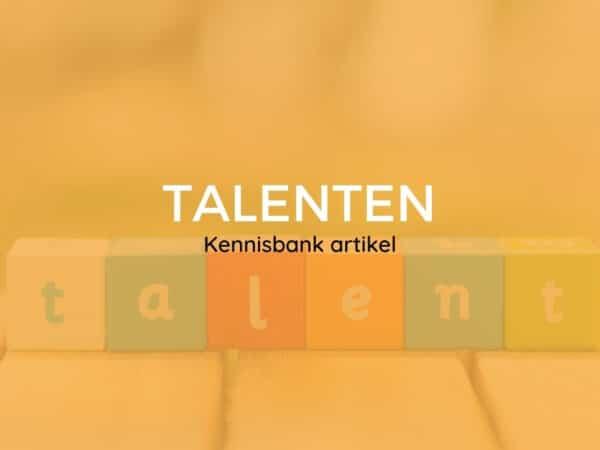 Talenten header