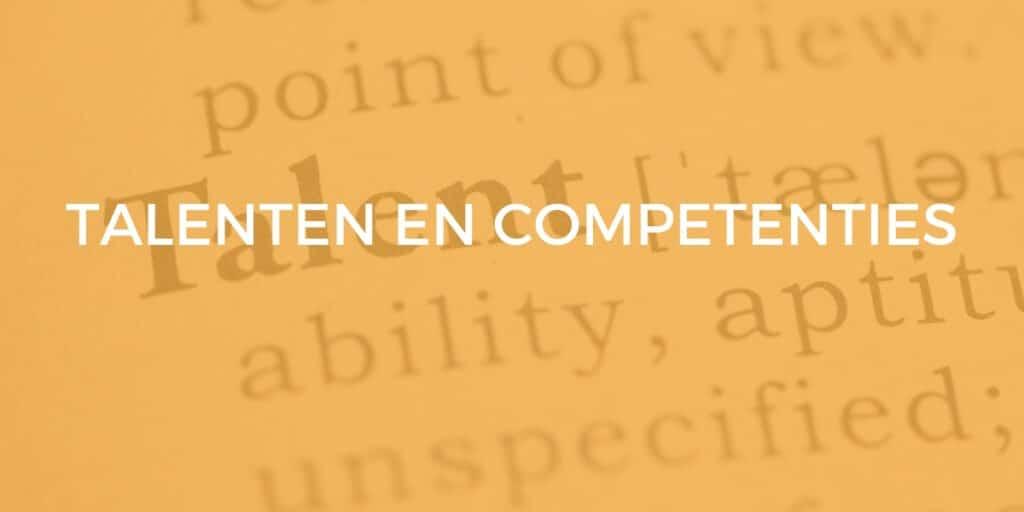 talenten en competenties