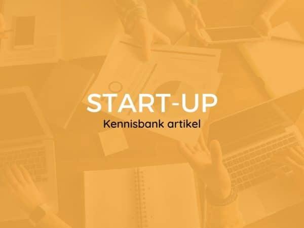 wat is een start-up