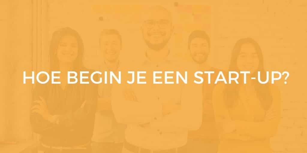 start-up beginnen