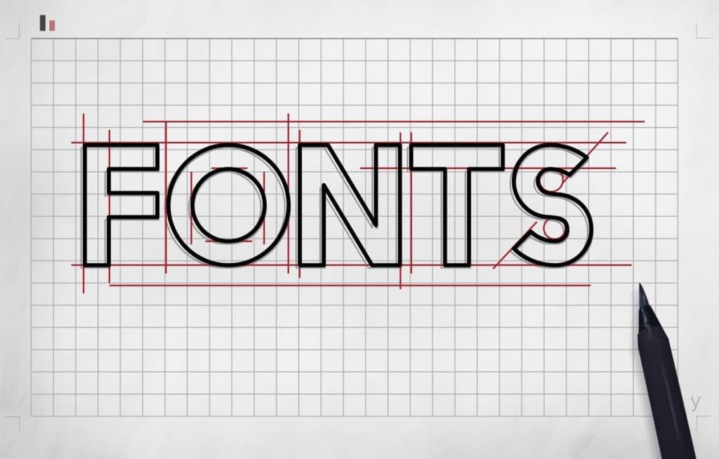 typografie bij een huisstijl