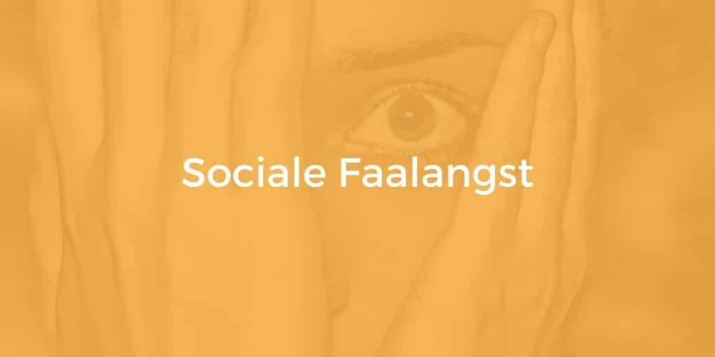 sociale faalangst